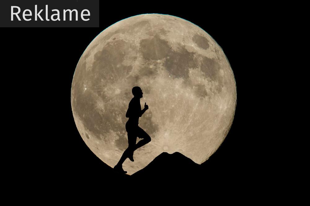 Mørke bør ikke være en hindring for dit løb