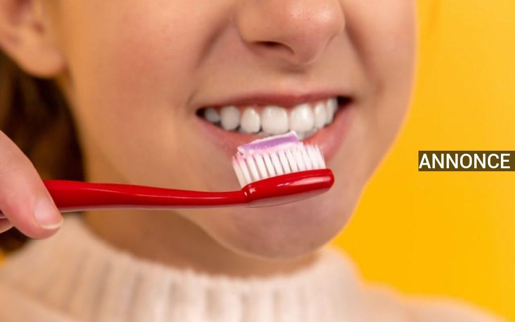 Sådan holder du tænder og tandkød sundt